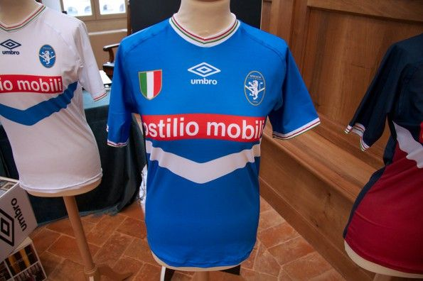 Prima maglia Brescia Calcio Femminile 2014-2015