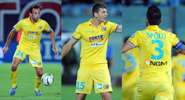 Seconda maglia Catania 2014-2015