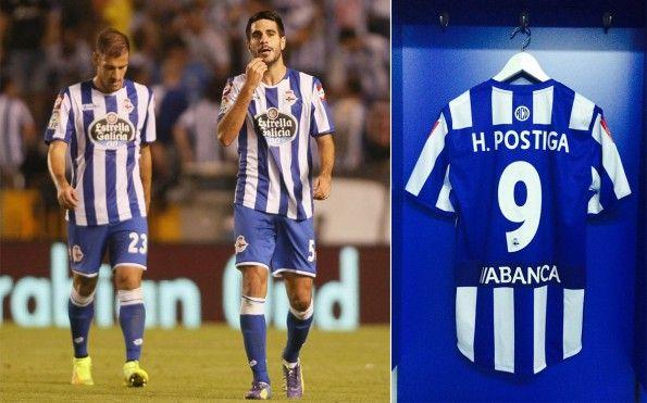 Deportivo La Coruna prima divisa 2014-2015