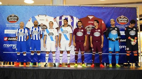 Kit Deportivo La Coruna 2014-2015