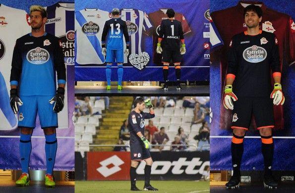 Maglia portieri Deportivo La Coruna 2014-15