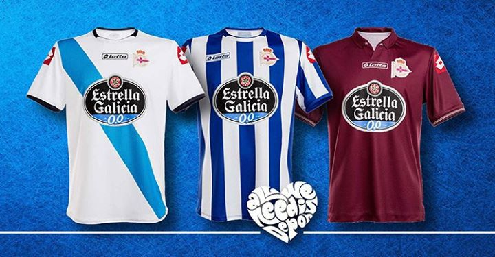 Maglie Deportivo La Coruna 2014-2015