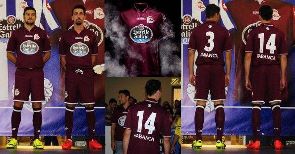 Terza maglia Deportivo La Coruna 2014-2015