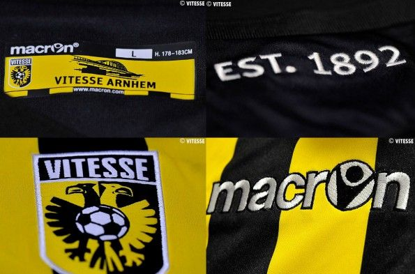Dettagli maglia Vitesse 2014-15