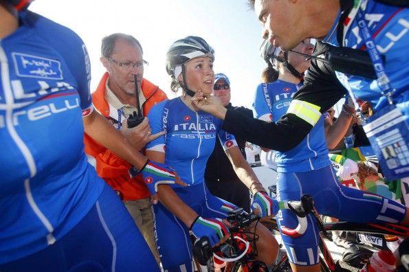 Italia, maglia mondiali ciclismo 2014, dettagli
