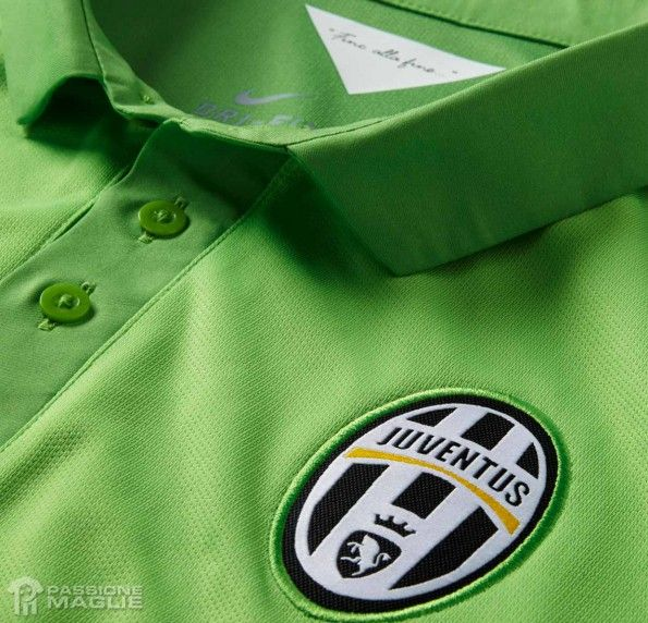 Colletto terza divisa Juventus 2014-15