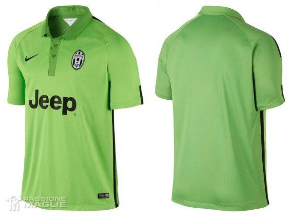 Terza maglia Juventus 2014-2015 verde