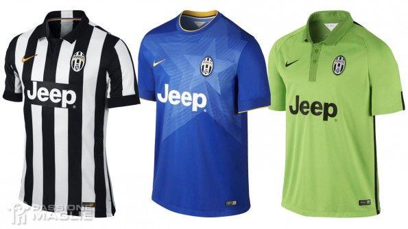 Maglie Juventus 2014-2015 Nike