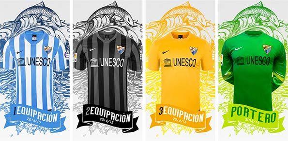 Kit Malaga 2014-2015
