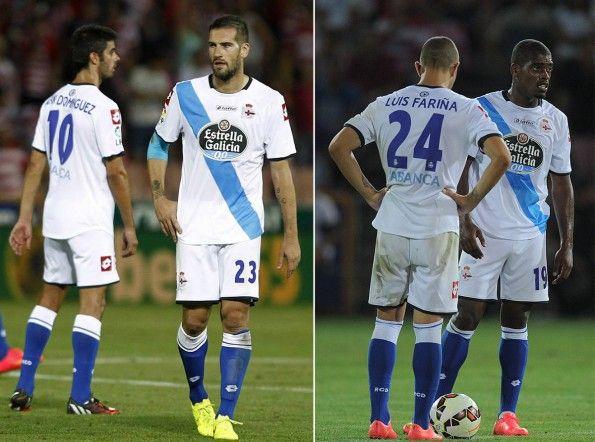 Seconda maglia Deportivo La Coruna 2014-15