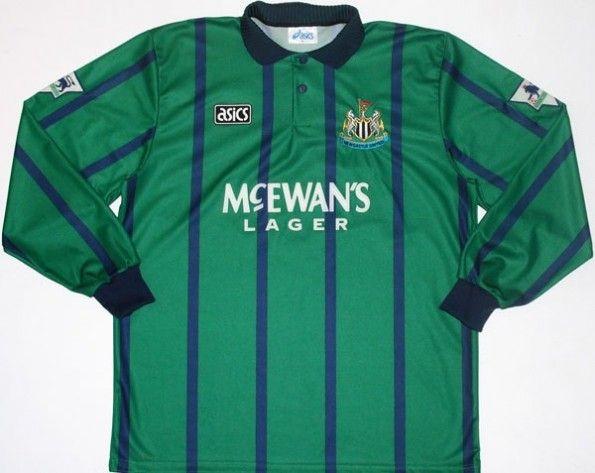 Maglia trasferta Newcastle 1994-1995