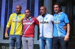Presentazione maglie Empoli 2014-2015