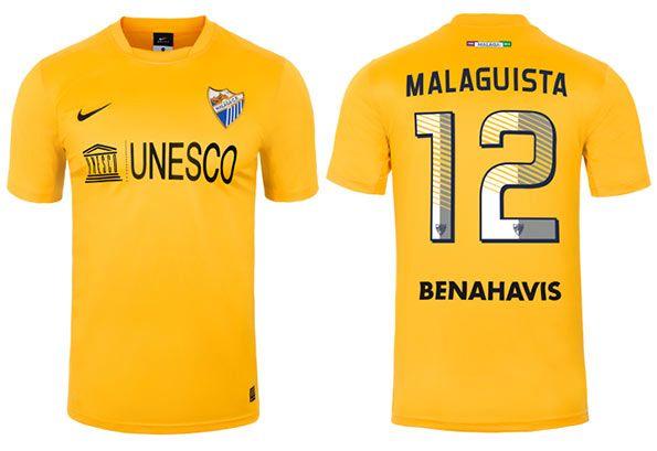 Terza maglia Malaga 2014-2015