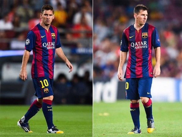 Leo Messi in Barcellona-Apoel