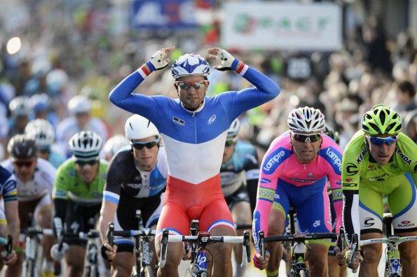 Nacer Bohuanni, maglia tricolore francese, 2012