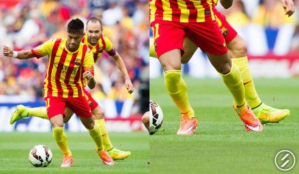 Neymar scarpe Hypervenom