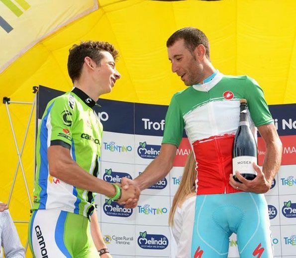Vincenzo Nibali, campione italiano 2014, maglia tricolore