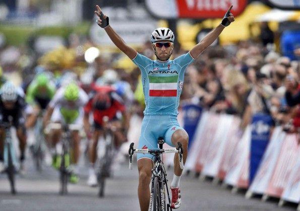 Vincenzo Nibali, maglia tricolore, Tour de France 2014