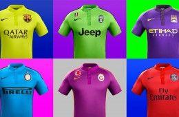 """Il """"pop art"""" di Nike con le terze maglie 2014-2015"""