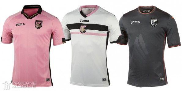 Maglie Palermo 2014-2015 Joma