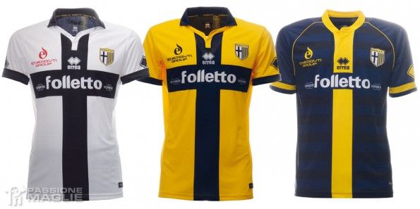 Maglie Parma 2014-2015 Erreà