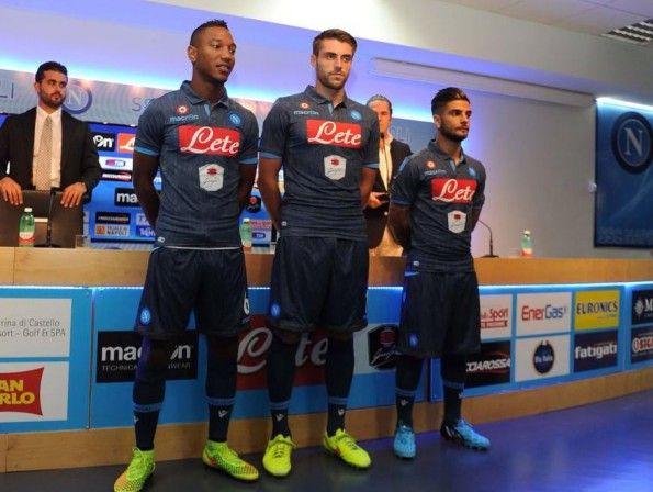 Presentazione maglia Napoli away 2014-15