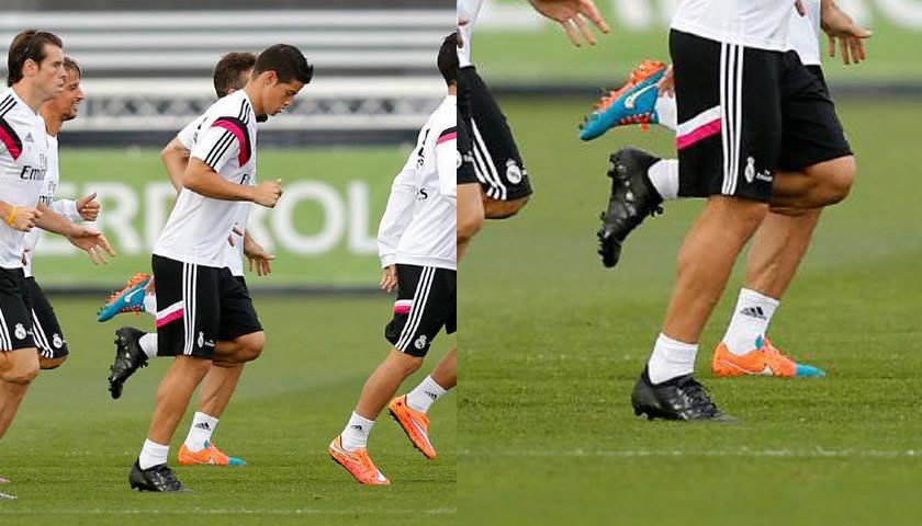 Allenamento Real Madrid