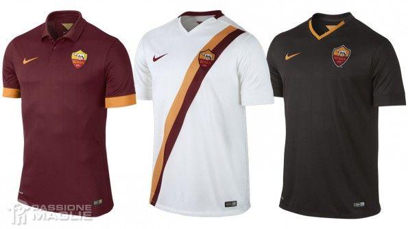 Maglie Roma 2014-2015 Nike