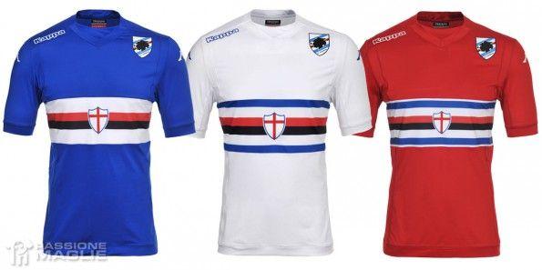 Maglie Sampdoria 2014-2015 Kappa