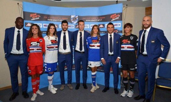 Maglie Sampdoria sponsor Sin City