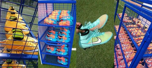 Nike Innovation Showcase Roma - Test in campo