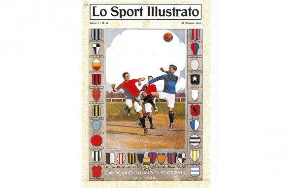 Lo Sport Illustrato 1913 - copertina