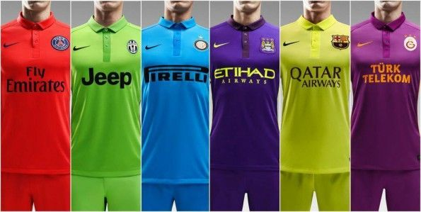 Terze divise Nike 2014-15