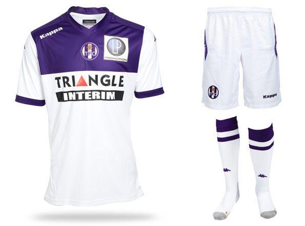Seconda maglia Tolosa 2014-2015