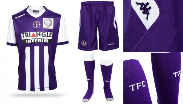 Prima maglia Tolosa 2014-2015
