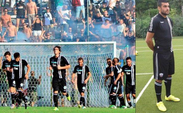 Divisa Ascoli trasferta nera 2014-2015