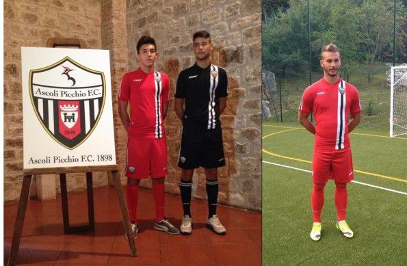 Maglie trasferta Ascoli 2014-2015