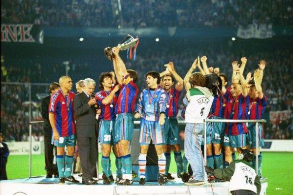 Barcellona vittoria Coppa delle Coppe 1996-1997