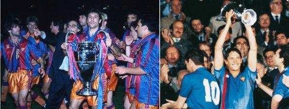 Barcellona Coppe europee 1992 e 1989