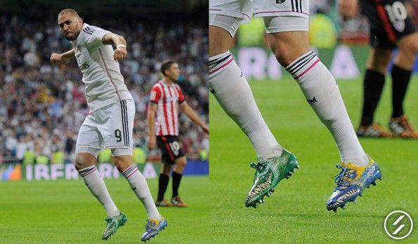 Benzema scarpe F50 Yamamoto adidas
