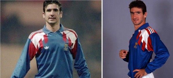 Cantona Maglia Francia 1990-1992