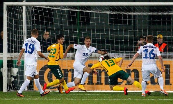 Estonia away kit nike 2014