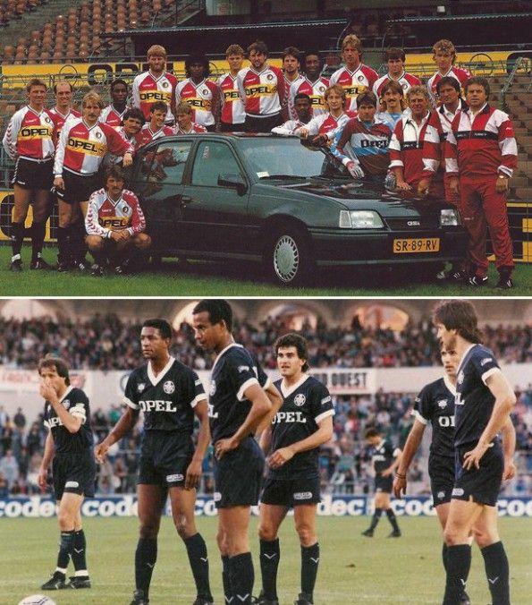 Divise Feyenoord e Bordeaux con sponsor Opel