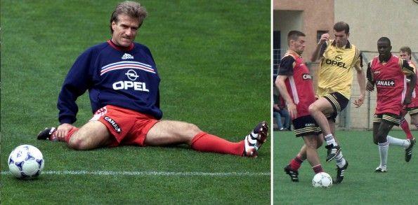 Francia 1998 allenamento Opel