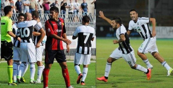 Ascoli Picchio home kit 2014-2015