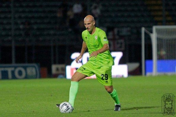 Seconda maglia Pro Vercelli 2014-2015 verde