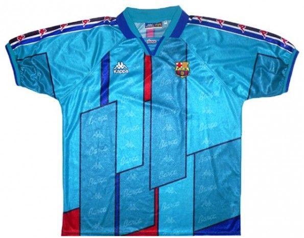 Maglia trasferta Barcellona 1996-1997
