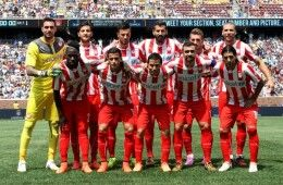 Kit Olympiakos home 2013-2015