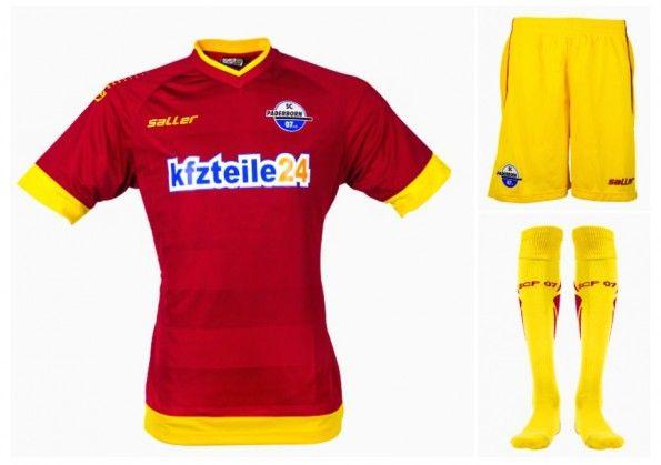 Seconda maglia Paderborn 2014-15