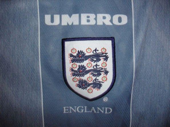 Stemma seconda maglia Inghilterra 1996